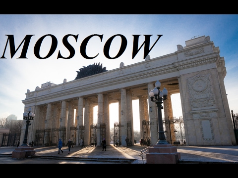 Russia/Moscow (Walking Tour/Gorky Park)   Part 13