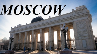 Russia Moscow Walking Tour Gorky Park Part 13