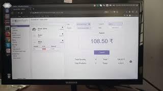 Odoo 11 UI for Sales Order