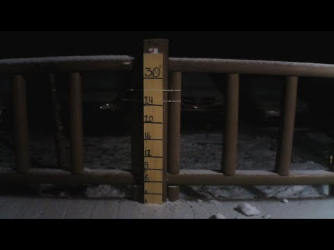 Snow Storm Diego Hits The Mountains Of NC Live Stream