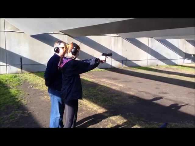 Shooting my friends 9mm CZ Shadow