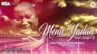 Menu Yadan Terian Aondiyan Ne | Nusrat Fateh Ali Khan | complete full version | OSA Worldwide