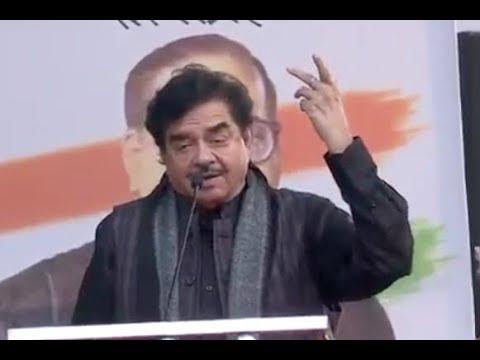 BJP Shatrughan Sinha Speech At  At AAP Opposition Rally in Delhi..Aravind Kejriwal..Narendra Modi.. Mp3