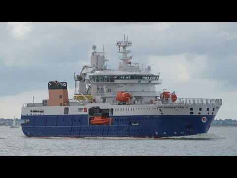 Offshore (SOV) BIBBY WAVEMASTER 1 maiden arrival at Harwich harbour 17/9/17