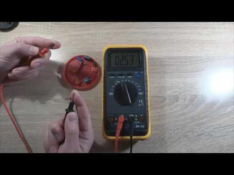 Учимся пользоваться мультиметром