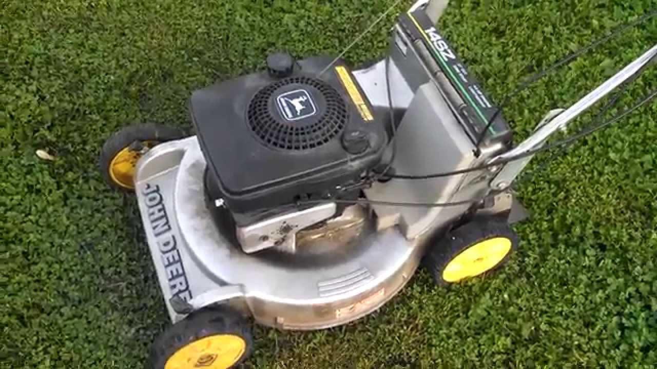 Vintage John Deere Self Propelled Mower