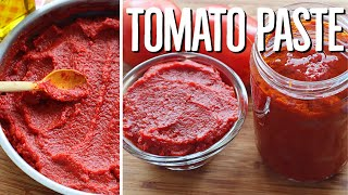 How To Make Tomato Paste