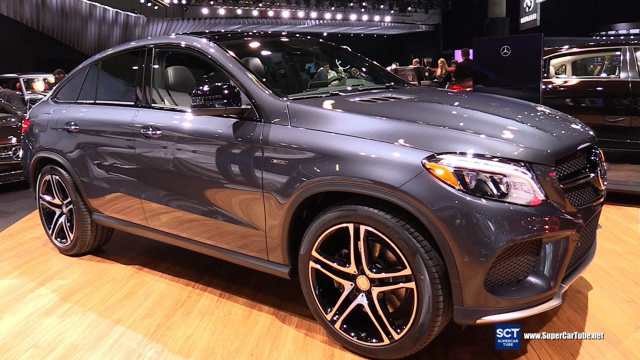 2016 mercedes benz gle class gle 450 amg coupe exterior and interior walkaround 2015 la auto. Black Bedroom Furniture Sets. Home Design Ideas
