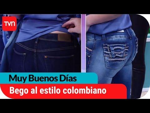 "Bego�a se atreve y se luce con jeans ""levanta cola"" colombiano"