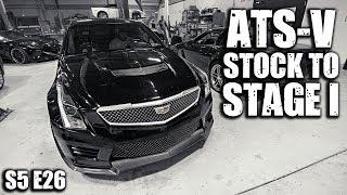 видео Cadillac ATS-V