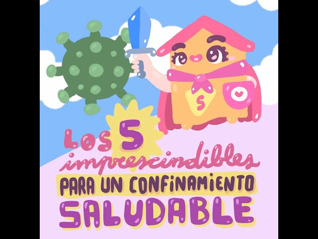Los 5 imprescindibles para un confinamiento saludable  - Kawaii Doodles by Garbi KW