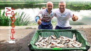 Рыбалка на фидер. Как ловить на фидер плотву. КОНКУРС. Vlog#40 Feeder fishing tv. Рыбалка 2019.