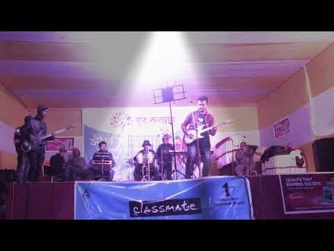 Mayabini Ratir Bukut , Live by Biku 🎤🎸