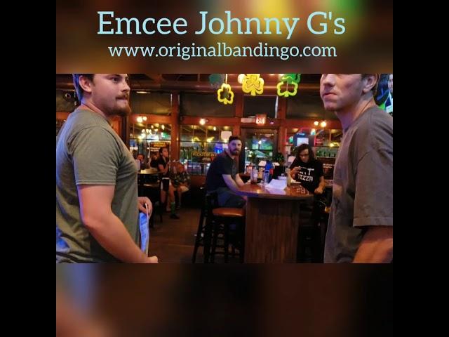 Emcee Johnny G's Original Bandingo Conga line challenge tie breaker