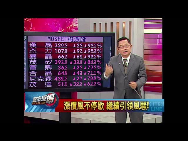 股市現場*鄭明娟【漲價大風吹不停!】20180528-3(連乾文)