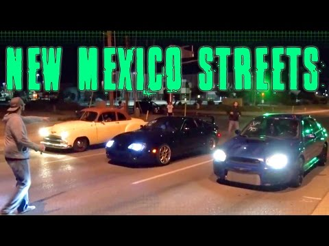 New Mexico Street Racing!