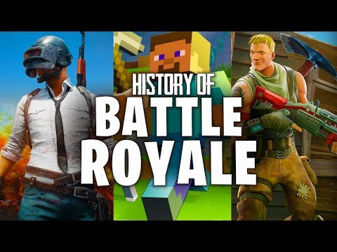 The History of Battle Royale Games