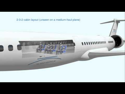 NOVA, a concept of medium-haul transport aircraft