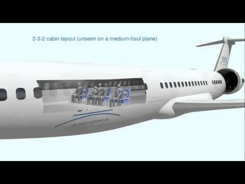 NOVA, a concept of medium-haul transport aircraft