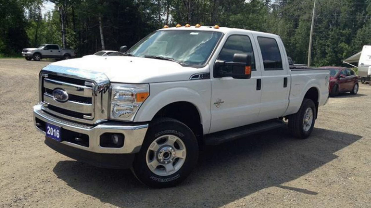 2016 ford f 250 xlt super duty powerstroke crew cab 4x4 youtube. Black Bedroom Furniture Sets. Home Design Ideas