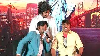 Funny Skit by Srinivasa Reddy, Sudigaali Sudheer & Jabardasth Srinu  @ Vammo Movie Launch