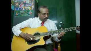 Jaane Kahan Mera Jigar guitar instrumental by Rajkumar Joseph.M