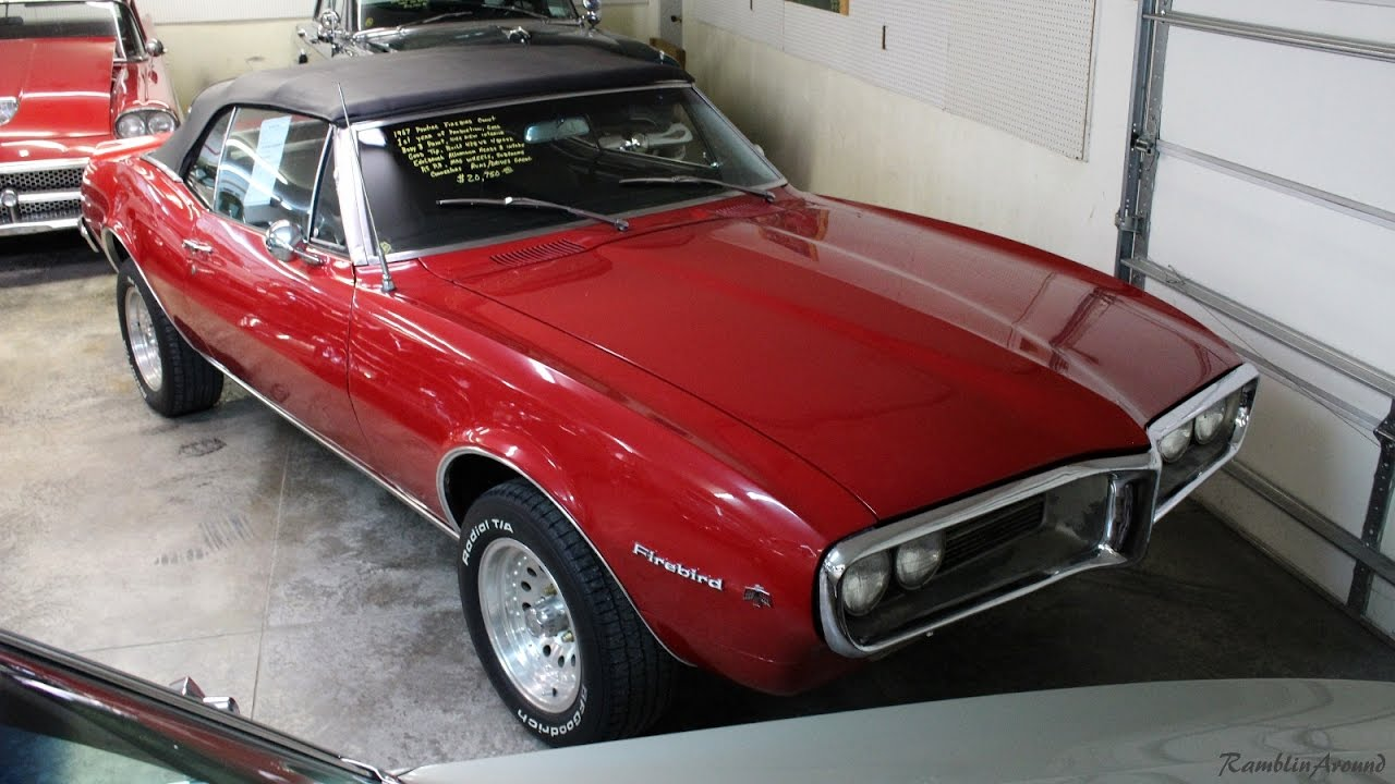 1967 Pontiac Firebird 428 V8 Four Sd Convertible