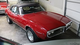1967 Pontiac Firebird 428 V8 Four speed Convertible at Country Classic Cars