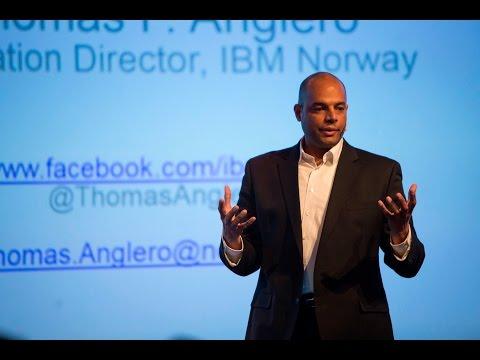 IBM Watson at the NHH Symposium 2017 (Thomas F. Anglero, Dir. of Innovation, IBM Norway)