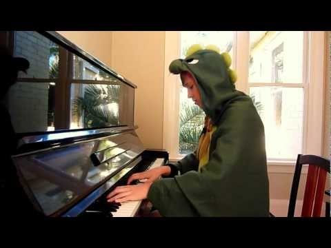 0 Música tema do Jurassic Park no piano