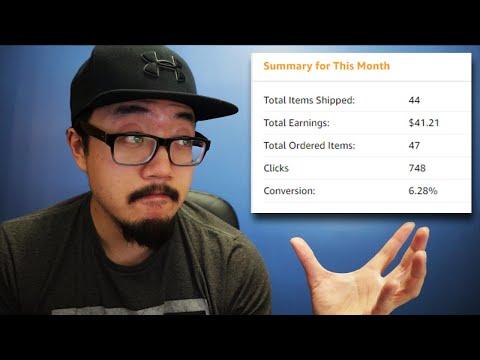 How To Make Money Online Sharing Amazon Links (Amazon Affiliate Program for Beginners)