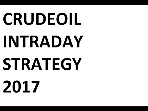 Crude Oil Intraday Trading Strategy – 2017