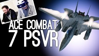 Ace Combat 7 PSVR Gameplay: NOOOOOOO!!! PULL UP!!!