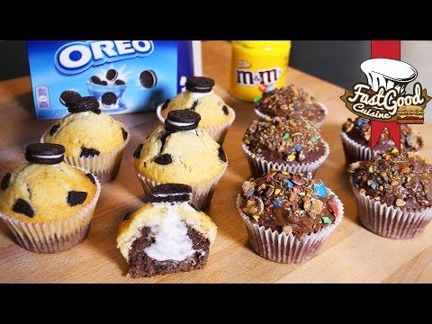recette-mcdo-:-comment-faire-les-muffins-oréo-et-m&m's