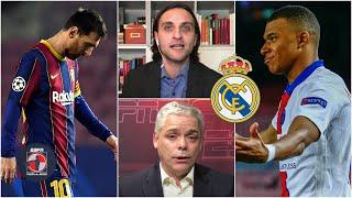 MEDIOCRE lo del Barcelona vs PSG. ¿Un guiño de Mbappé al Real Madrid? Messi acabado | Fuera de Juego