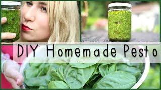 Diy Homemade Pesto | Mademoiselle Ruta