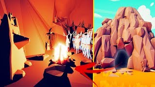 I Found A Secret Cat-Worshipping Cave Tribe In TABS - Totally Accurate Battle Simulator