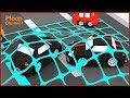 Cartoon Cars: GOLD ROBBERS! Compilation Cartoons for Children - Children's Animation Videos for kids