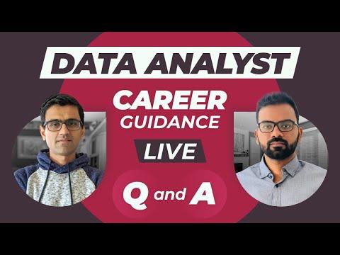 Data Analyst Career Guidance Live Q&A