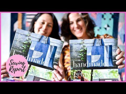 Handmade Getaway Book Authors on Kickstarter, Social Sewing | SEWING REPORT