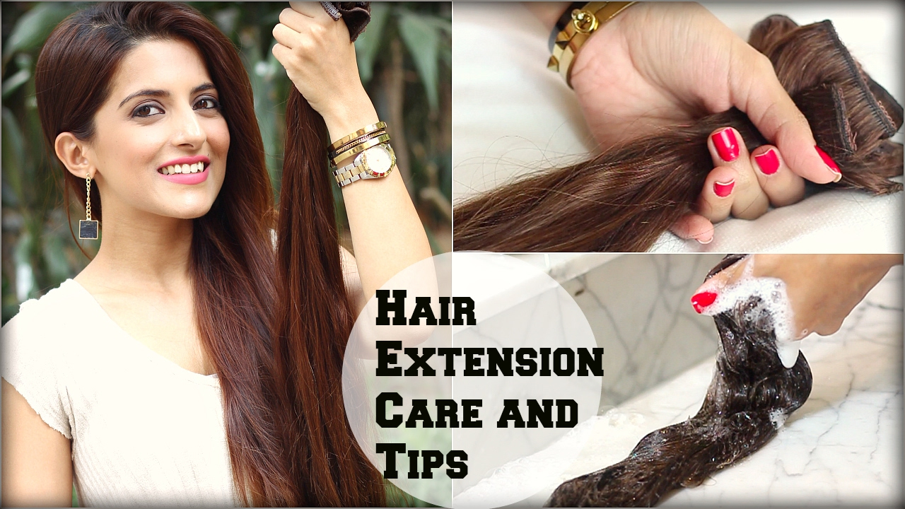 How To Wash And Take Care Of Clip In Hair Extensions Tips And