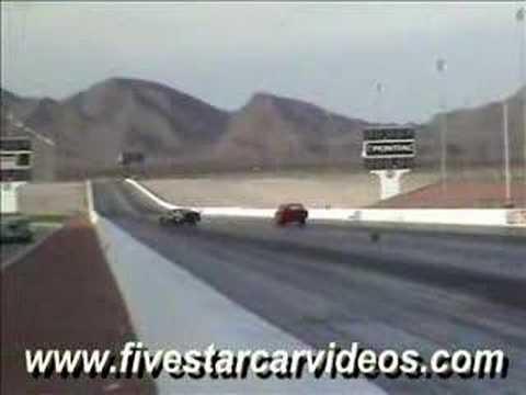 Pro Stock Dodge Daytona Crash