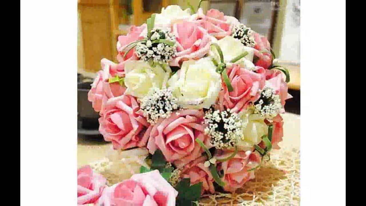 Silk Flower Arrangements for Weddings - YouTube