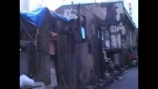 火事で家が焼かれてしまいました。 今は近くの公園でテント生活です。