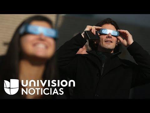 Así se preparan turistas y residentes de Hopkinsville, Kentucky, para ver el eclipse solar