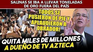 AMLO Quita Miles De Millones En Lingotes De Oro A Ricardo Salinas. Todos Aplaudieron