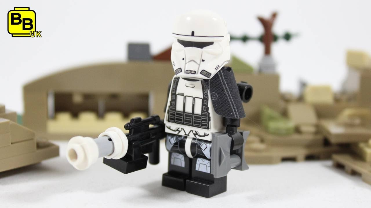 Lego star wars scout trooper Mini Figure
