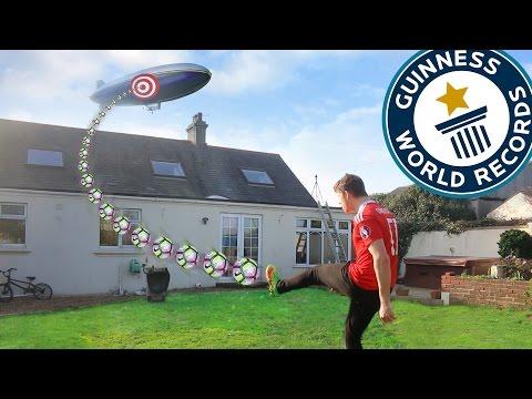 WORLDS HARDEST FOOTBALL CHALLENGE