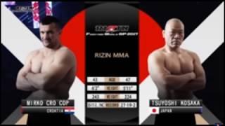 Mirko Cro Cop vs Tsuyoshi Kosaka at Rizin 9 with Fights with Friends commentary