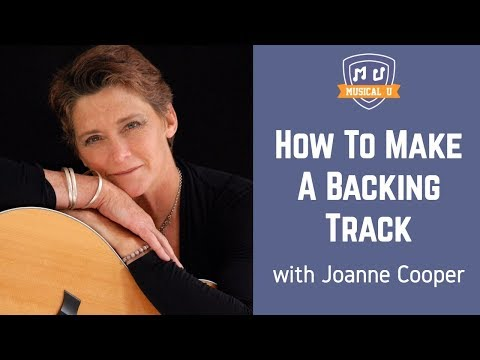 How To Make A Backing Track with Band-in-a-Box